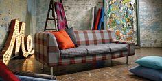 Kirkby Design - Designer Fabrics & Wallcoverings. Available from www.seneca.co.nz
