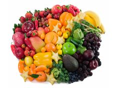 Eat Your Colors : Fruits and vegetables are packed with not only vitamins and minerals, but also another healthy component: phytochemicals. Every color indicates a different class of phytochemicals. Here