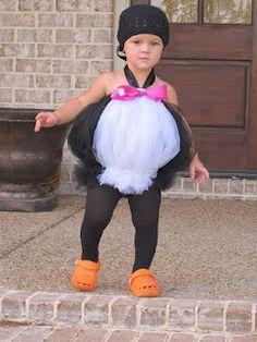 Penguin costume #tulle #tutu Chic Monkey Boutique: Children's Cute Tutu Costumes