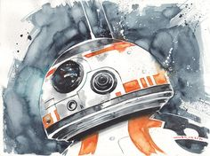 Star Wars: Episode VII - The Force Awakens - BB-8 by Ricardo Drumond *