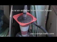 ▶ Zyclone Staubabscheider or simple Cylone Dust Separator - YouTube