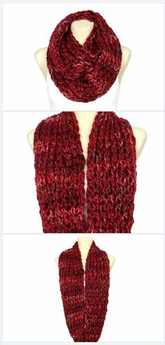 We all need warm Winter scarf which will create a gorgeous outfit together with a new coat or jacket. Look closer at this chunky knit snood scarf, I'm sure that when u zoom it in you will see more than one color! This is why it is so pretty and unique. Perfect birthday gift for mom, wife, daughter or girlfriend! Click through to see more colors or save it for later! All made using finger knitting technique.