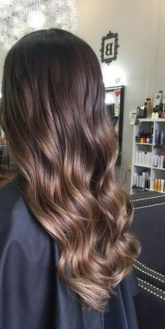 caramel mocha brunette - love this color