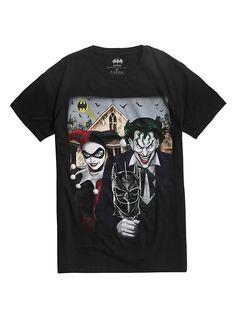 DC Comics Joker /& Harley T-Shirt Uomo
