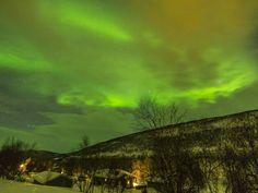 Polarlichter, Husky Safari in Tana,  Winterfischen, die Sami Kultur und Erholung im schönen Saami Dorf im nördlichsten Lappland. Jetzt inspirieren lassen!