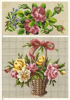 "ru / Martin Winkler ""J Mini Cross Stitch, Cross Stitch Cards, Cross Stitch Rose, Counted Cross Stitch Kits, Cross Stitch Flowers, Cross Stitching, Cross Stitch Embroidery, Needlepoint Patterns, Embroidery Patterns"