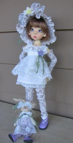 A amazing doll by Kaye Wiggs