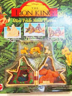 Disney Lion King-Mini Play Set-Pride Rock by VintageUpcycled