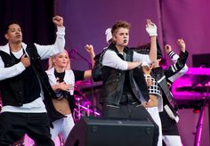 Singers like Justin Bieber not only sing, but do elaborate dance choreography to his performances to add more entertainment.