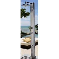 Duche exterior Vesubio - OASIS STAR Michigan, Oasis, Bathroom Lighting, Exterior, Mirror, Furniture, Home Decor, Shower Base, Taps