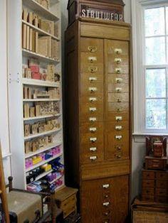 great blog called crafty storage. lots of pics and video