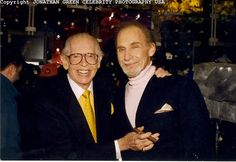 """Sid Caesar & Milton Berle -Isaac Sidney """"Sid"""" Caesar is an Emmy Award-winning American comic actor and writer best known for the 1950s television series Your Show of Shows and Caesar's Hour-Milton Berle was an American comedian and actor. As the host of NBC's Texaco Star Theater, he was the first major American television star and was known to millions of viewers as """"Uncle Miltie"""" and """"Mr. Television"""" during TV's golden age."""