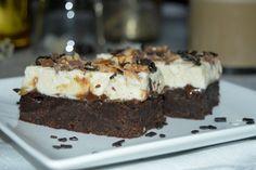 Brownies, Caramel, Pie, Sweets, Snacks, Desserts, Cakes, Food, Mascarpone
