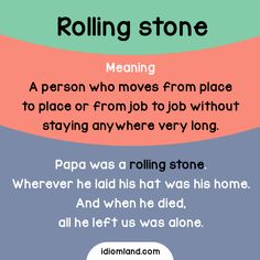 Are you a rolling stone? - Repinned by Chesapeake College Adult Ed. We offer free classes on the Eastern Shore of MD to help you earn your GED - H.S. Diploma or Learn English (ESL) . For GED classes contact Danielle Thomas 410-829-6043 dthomas@chesapeke.edu For ESL classes contact Karen Luceti - 410-443-1163 Kluceti@chesapeake.edu . www.chesapeake.edu