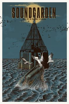 Two New Soundgarden Posters by Neal Williams