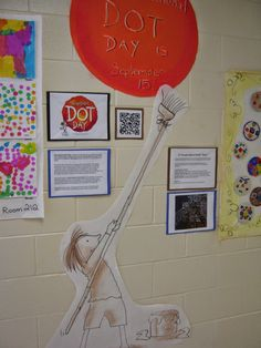 Tales from the Traveling Art Teacher!: Celebrating International Dot Day!                                                                                                                                                      More