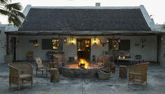 Tankwa River Lodge | Perfect Hideaways Ubud, Diy Design, Bali, African House, Farm Cottage, Farm House, River Lodge, Hotels, Stone Houses