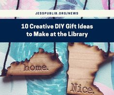 Use the library's laser cutter or 3D printer to DIY your gifts this year.