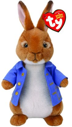 Buy TY Beanie Babies Peter Rabbit online or in store at Mr Toys. Browse our Ty Beanie Boos range at great prices. Peter Rabbit Movie, Peter Rabbit Plush, Peter Rabbit And Friends, Peter Rabbit Party, Beanie Babies, Ty Beanie Boos, Rabbit Drawing, Rabbit Art, Bunny Cages