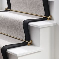Brass Stair Rods | Free Delivery | Pushka Home Stair Rods, Home Hardware, Antique Gold, Solid Brass, Cleaning Wipes, Staircase Ideas, Hallway Ideas, Stairs, Antiques