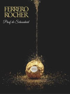 Ferrero Rocher Christmas ad Ferrero Rocher, Photoshop 5, Coffee Shop Logo, Food Poster Design, Christmas Ad, Xmas, Design Art, Graphic Design, Creative Posters