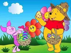 Easter Winnie the Pooh