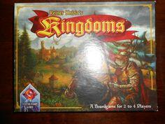 Kingdoms REINER KNIZIA FANTASY BOARD GAME GIOCO DA TAVOLO SOCIETA'