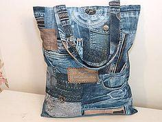 Nákupné tašky - ...super denim.... - 9037834_