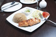 Fish & Seafood - Fried Salmon Fillet