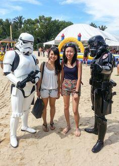 Adventure Crew meets Stormtroopers #WorldBloodDonnerDay