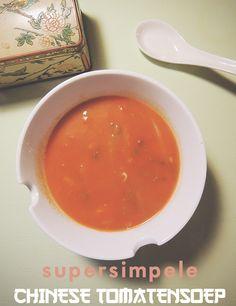 Recept: Simpele Chinese tomatensoep - IKBENIRISNIET