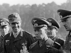 Erwin Rommel and his Adjutant Alfred-Ingemar Berndt