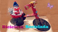 ➪ Bicicleta Decorativa Reciclada ♔ Regalo para Navidad♔