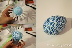 Fabric-Wrapped Easter Eggs | 37 Adorable And Unexpected Easter Egg DIYs