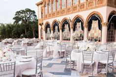 Ca' d' Zan Mansion Wedding | Sarasota Luxury Wedding Photographers | Kara & Cory | Ringling Museum Weddings | Outdoor Wedding Inspiration | #nkweddings | Florida Destination Wedding Photography | www.hunterryanphotoblog.com