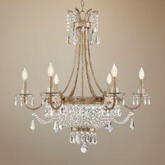"Savoy House Claiborne 33"" Wide Avalite Chandelier - #1P173 | Lamps Plus"