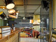 25hours Hotel Spezialangebot für WienerInnen - The Chill Report E Design, Interior Design, Das Hotel, Bar Areas, Rooftop Bar, Cafe Restaurant, Vienna, Track Lighting, Viajes