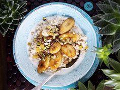 owsianka karaibska Olympus Digital Camera, Hummus, Sweet Recipes, Caribbean, Ale, Snacks, Baking, Healthy, Ethnic Recipes