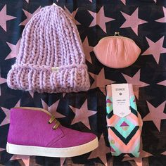 We are preparing for a wild Bonfire night with these pretty in pink picks!  [Shop link in bio] @bartsaccessories @becksondergaard @penelopechilvers @stance_muse_uk