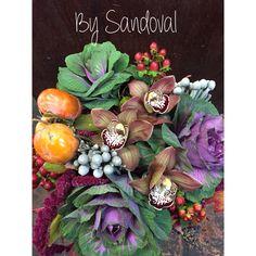 Thanksgiving organic centerpiece.