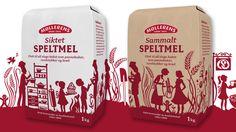 Møllerens mel. #produktidentitet #pakningsdesign