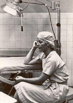 1966 - Lt. Alva Harrison, Nurse Corps, US Navy, Saigon, after 18 hours of surgery by manhhai, via Flickr