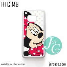 Micky Mouse Girl Phone Case for HTC One M9 case and other HTC Devices