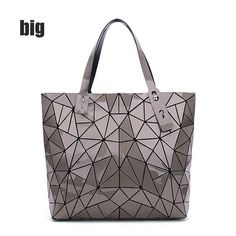 27e22d6e05dc Fashion Diamond Summer bag large Quilted ladies Handbag bag female  Geometric tote Laser woman shoulder bags designers brand