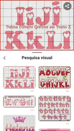 Letras p d cruz Cross Stitch Letters, Cute Cross Stitch, Pixel Crochet Blanket, Crochet Letters, Free To Use Images, Plastic Canvas Patterns, Embroidery Techniques, Letters And Numbers, Cross Stitching