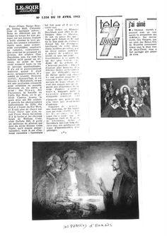 Le Soir Illustré : Article 1556 (19.04.1962)