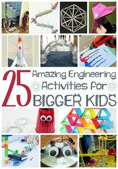 25 amazing engineering activities for bigger kids