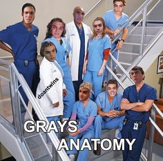 He just made me laugh hard at this because I love Grey's anatomy and he just made it better! Ethan And Grayson Dolan, Ethan Dolan, Dolan Twins Memes, Funny Memes, Hilarious, Funny Shit, Magcon, To My Future Husband, Greys Anatomy