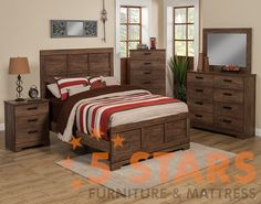 Urban Village 6pc Bedroom Set