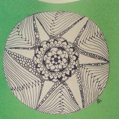 """""""#Mandala #Zentangle"""""""